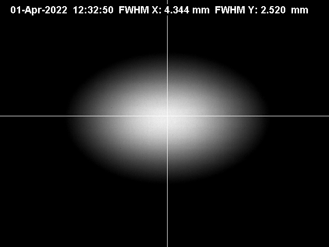 Recent SURF Beam Image